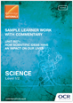 Sample learner work with commentary - R071 - cover