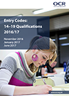 Entry Codes: 14-19 qualifications 2016/17