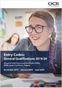 Entry Codes: General Qualifications 2019/20