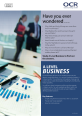 A Level Business Fact Sheet