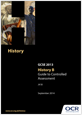 Guide to controlled assessment in History B - cover