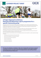 Recreational assistant - Project approach Learner project brief - Image