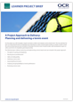 Tennis Foundation - Project approach - Learner project brief