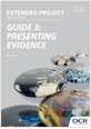 Presenting evidence - Teachers' guide - cover
