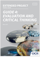 Evaluation and Critical Thinking - Teachers' guide - cover