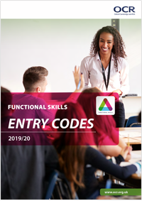 Functional Skills Entry Codes