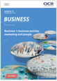 Business 1: business activity, marketing and people - Candidate style answers