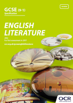 GCSE English Literature - J352 front cover