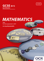 GCSE Mathematics - J560 (from 2015) front cover