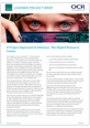 The digital resource centre - Project approach - Learner project brief
