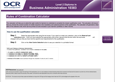 Qualifications Calculator  - Business Adminstration- cover