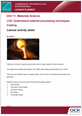 Unit 11 - Casting Lesson Element - Learner Task - cover