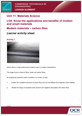Unit 11 - Modern materials - Carbon fibre Lesson Element - Learner Task - cover