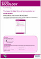 The impact of digital forms of communication on social inequality activity - cover