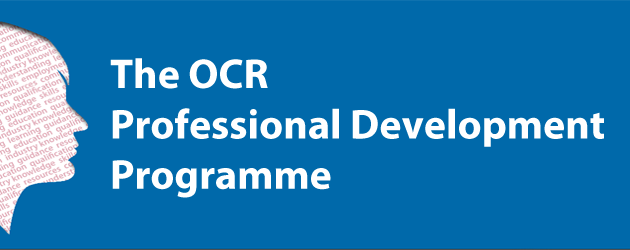 OCR Professional Development programme