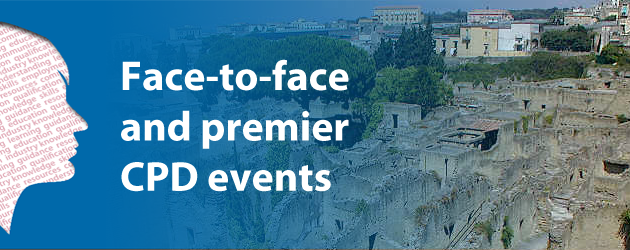 Face-to-face and Premier CPD events