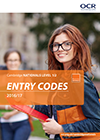Entry Codes: Cambridge Nationals 2016/17