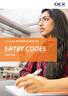 Entry Codes: Cambridge Nationals 2017/18