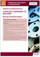 Siemens' energy transformation - Learner project brief - cover