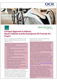 Greenpower's Formula 24+ Electric Vehicles - project approach - Learner project brief - cover