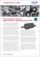 Jaguar Land Rover's high performance fuel filter - Project approach - Learner project brief - image