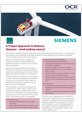 Siemen's Wind Turbine Control - project approach - Learner project brief - cover