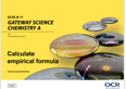 Elements, compounds and mixtures - Transition guide learner resources