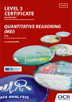 Core Maths - Quantitative Reasoning (MEI) Level 3 Certificate - H866 front cover