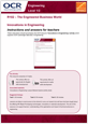 Unit R102 - Innovations in engineering - Lesson element - Teacher Instructions - cover