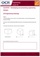 Unit R107- 3D Engineering drawings - Lesson element - Learner task - guide cover