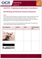 Unit R110 - Safe Working and Personal Protective Equipment - PPE - Lesson element - Learner task - guide cover
