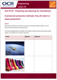 Unit R110 - Commercial production methods: One-off, batch or mass production? - Lesson element - Learners task cover