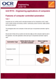 Unit R115 - Features of computer controlled automation - Lesson element - Learner task - cover