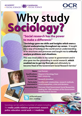 Why study Sociology? - Poster