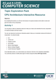 Structure and function of the processor - Topic exploration pack - Learner activity - cover