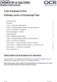 Enthalpy cycles in Developing Fuels - Topic exploration pack