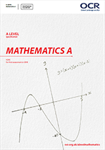 AS/A Level specification front cover