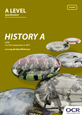 A Level History A specification cover