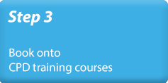 Step 3 - Book onto CPD training courses